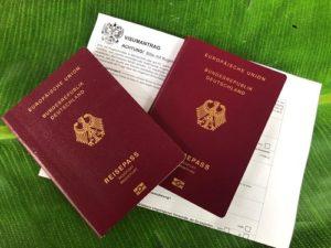 Reisebestimmungen